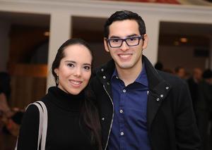 Karen Palacios y David Navarro