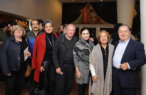 Monserrat, Alejandro, Leticia, Javier, Cecilia, Lupita y Omar