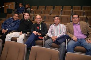 04022017 COMPAñEROS.  Abel, Ismael, Gerardo, Daniel y Carlos.