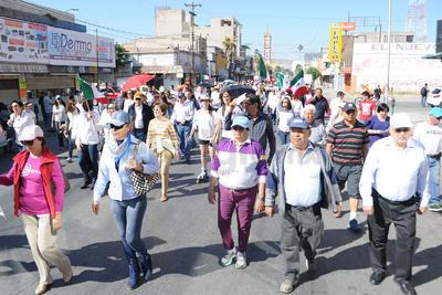 La convocatoria se lanzó  por el Frente Ciudadano de La Laguna.