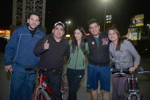 07022017 Adrián, Itziar, Eduardo y Daniela.