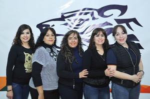 07022017 Margarita, Sergio, Ángela, Germán, María Luisa, Alma, Angélica e Ivonne.