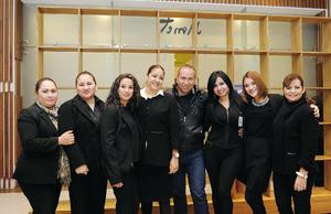05022017 Miriam, Aracely, Erika, Milagros, Dago, Diana, Karla y Paty.