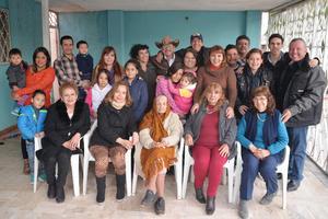 07022017 CUMPLE 92 AñOS.  La señora Marcelina disfrutó de la grata compañía de toda su familia, quienes le desearon mucha felicidad por su cumpleaños.