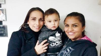 09022017 Estela, Santiago y Karen.