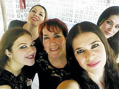 09022017 Berthaly, Thelma, Bertha, Rosy y Aída.