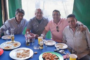 09022017 Sergio, Fernando, Eduardo y Pedro.