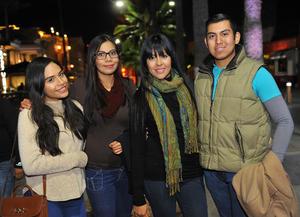 10022017 Salma, Laila, Fany y Rubén.