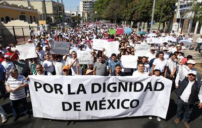 Diversas ciudades de México se unieron al llamado.