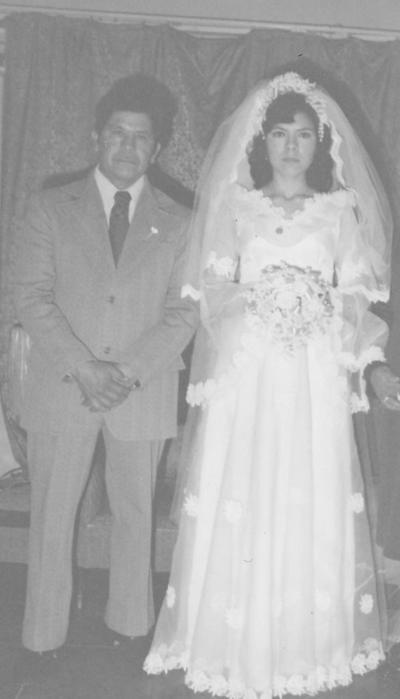 12022017 Heliodoro Ruiz Ramírez y Silvia Ruiz Mireles en 1976.