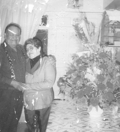 12022017 José Luis Rivera Chairez y Graciela Lara de Rivera celebrando 48 años de casados.