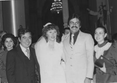 12022017 Rosa María Ávila y Pepe Tarango, recientemente fallecido, cumplirían próximamente 34 años de casados.