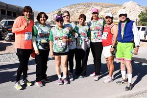 12022017 CORREDORAS.  Ana María Barbosa, Marisela Maldonado, Marcela Herrera, Rosalva González, Lauro Blanco, Belem Martínez, Graciela Sánchez y Juan Fávila.