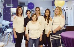 12022017 Estefanía, Karla, Lorena, Angélica, Andrea y María Guadalupe.