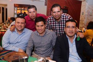 12022017 Moisés, Martín, Gerardo, Julio e Ignacio.