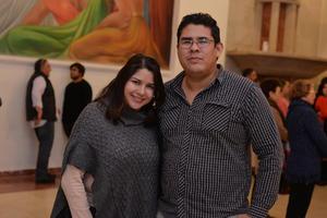 12022017 EN EL NAZAS.  Zaira y Gerardo.