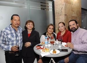 15022017 Carlos, Elia, Martha, Selene y Francisco.