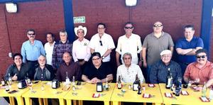 15022017 DíA DE LA AMISTAD.  Amigos de la mesa de La terminal.