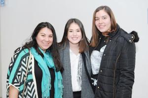 16022017 FELICES.  Alejandra, Jessica y Margarita.