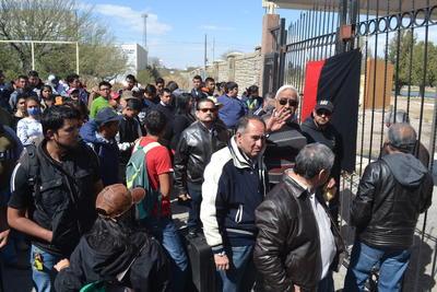 La huelga, estalló a las dos de la tarde de ayer jueves en la Universidad Autónoma Agraria Antonio Narro.