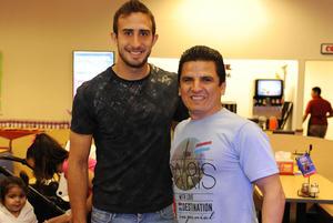 Carlos Izquierdoz y Benjamín