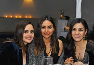 Mariel, Valeria y María José