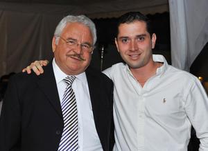 Pablo de la Fuente y Andrés Barnola