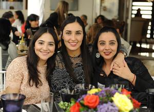 Cecila, María Sofia y Andrea