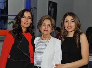 Cristina Cavazos, Yolanda de la Peña y Cristina Dorantes