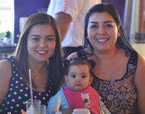 Nayath, Emilia y Diana