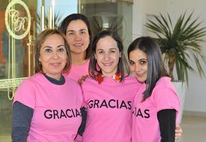 Karla, Ana Cris, Sonia y Cristy
