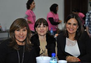 Lidia, Gaby y Lupita