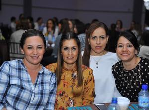 Michelle, Cristina, Georgina y Rosario
