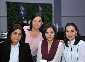 Nena, Purry, Brígida y Marcela