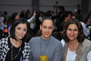 Samantha, Tessy y Paty