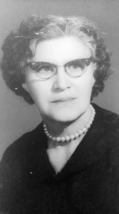 19022017 María Cardoza de Silveyra en 1968.