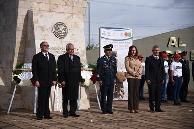En el evento se refrendó la lealtad del personal castrense hacia las instituciones gubernamentales y al pueblo mexicano.