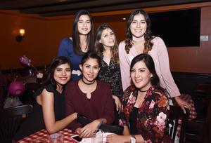 20022017 Cindy, Paola, Cristina, Karla, Paulette y Evelyn.