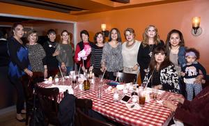 20022017 Sara, Rebeca, Lily, Olga, Silvia, Marusa, Juanny, Chayo, María Luisa y Cristina.