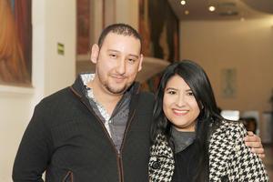 20022017 EN EL TEATRO.  Andrés y Pamela.