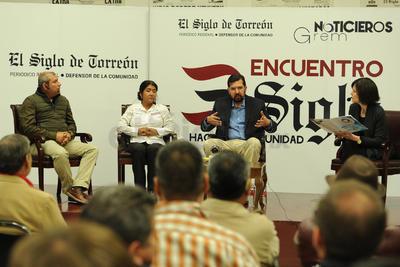 Noticieros Grem se sumó a esta edición de Encuentro Siglo, que fue conducido por Marcela Pámanes.