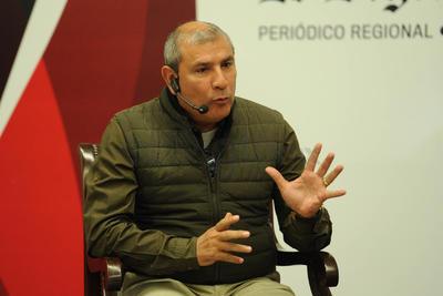 Demetrio Zúñiga, secretario de Acción Electoral del Comité Directivo Estatal del PRI, en representación de la presidenta Verónica Martínez, quien no asistió por cuestiones de agenda.