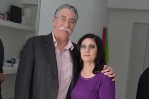 21022017 POSAN PARA LA FOTO.  José Chávez y María Mercedes.