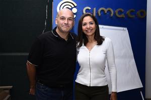 22022017 Conferencistas Fernando Mastrioanni y María Richards.