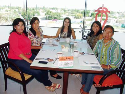23022017 Ana Karen, Olga Leticia, Maribel, Juanis y Maribel.