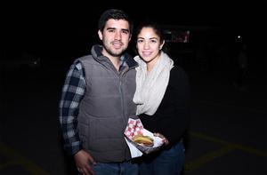 23022017 Ali Sabag y Maricela Rocha.