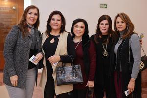 25022017 Mónica, Ana, Lupis, Lorena y Claudia.