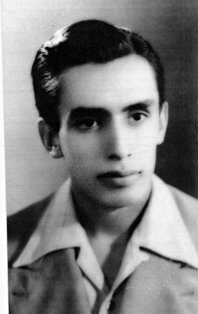 26022017 Rafael Luna Cabral en enero de 1954.