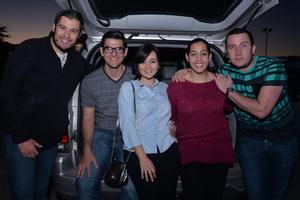 28022017 Miguel, Diego, Ale, Ana y Paul.