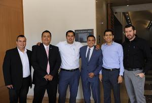 28022017 POSAN PARA LA FOTO.  Jesús Ibarra, Juan Carlos Córdova, Manuel Montoya, Christian Martínez, Alejandro Martínez y Gustavo Ortega.